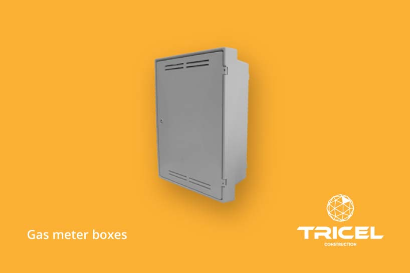 Tricel Gas Meter Boxes