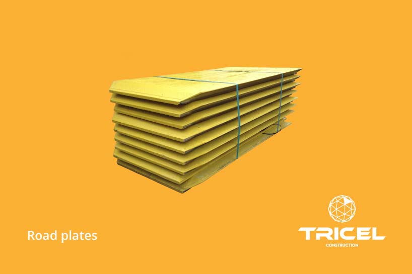 Tricel Modular Road Plates