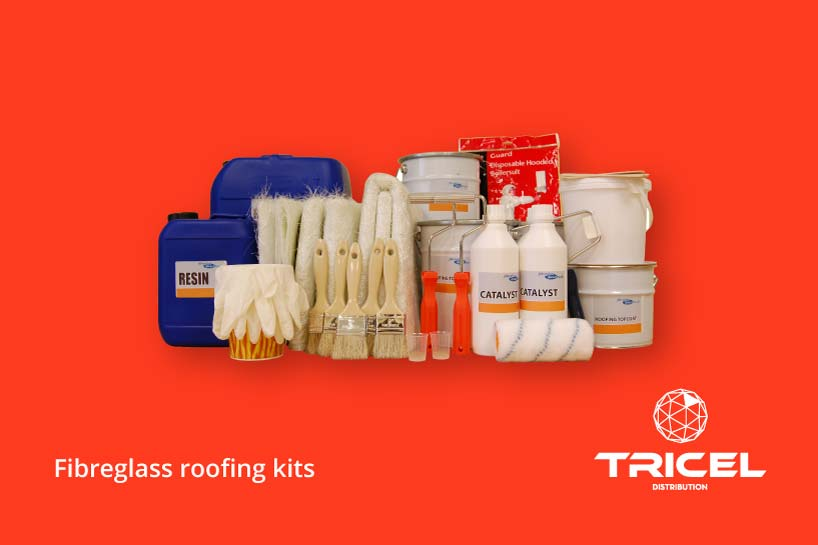 Tricel Fibreglass Roofing Kits