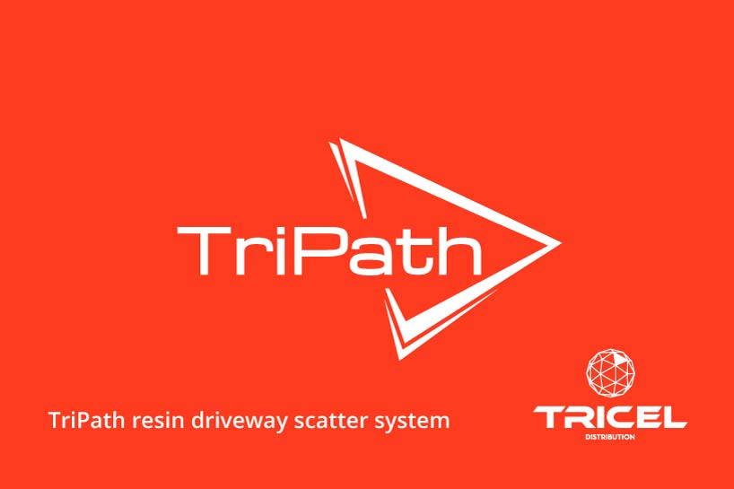 Tricel TriPath Resin Driveway Scatter System
