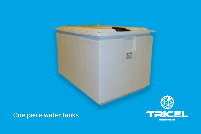 Tricel One-Piece Water Tanks