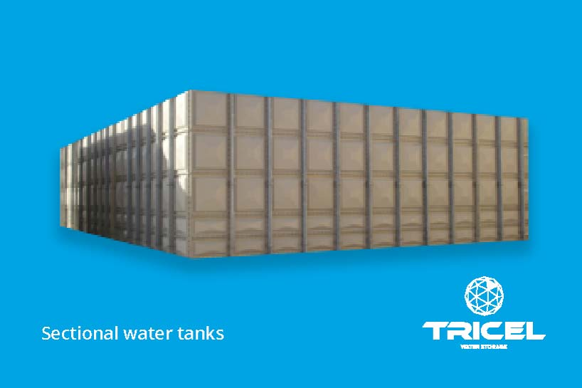 Tricel Sectional Water Tanks