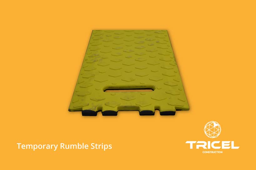 Tricel's Temporary Rumble Strips