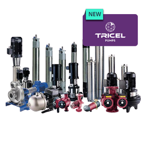 Tricel pumps range